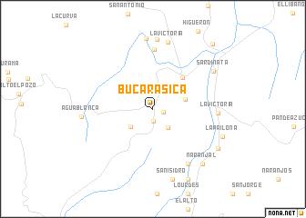 map of Bucarasica