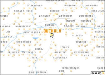 map of Buchalm