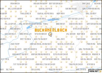 map of Buch am Erlbach