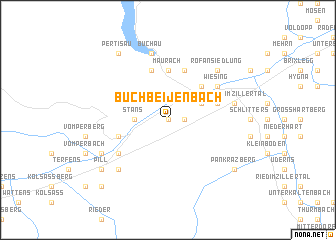 map of Buch bei Jenbach