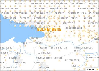 map of Buchenberg