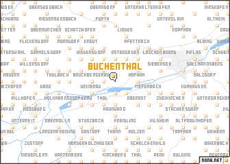 map of Buchenthal