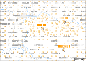 map of Buchet