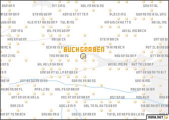 map of Buchgraben