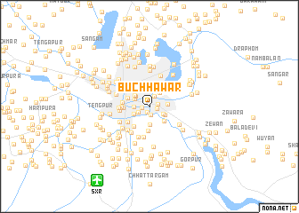 map of Buchhawār