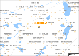 map of Buchholz