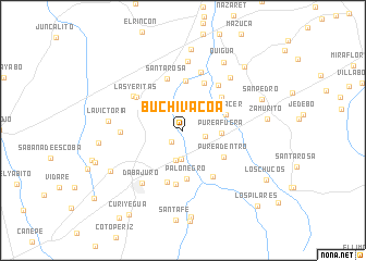 map of Buchivacoa