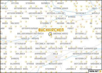 map of Buchkirchen