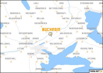 map of Buchrain