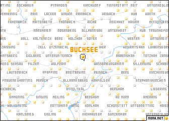 map of Buchsee