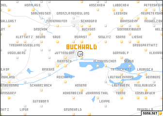map of Buchwald