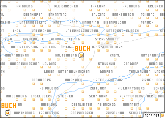 map of Buch