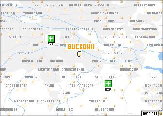 map of Buckow II