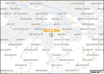 map of Buckow I