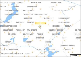 map of Buckow