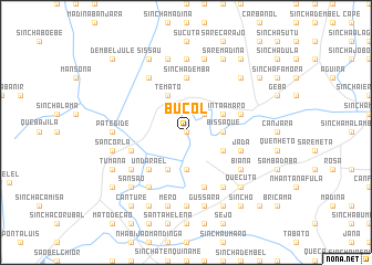 map of Bucol
