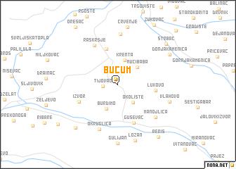 map of Bučum