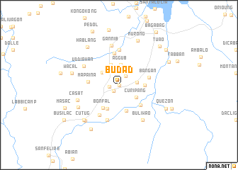 map of Budad