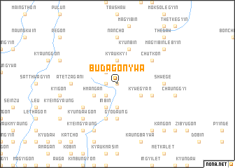 map of Budagon-ywa