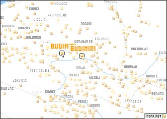 map of Budimiri