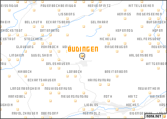 Büdingen (Germany) map   nona.net
