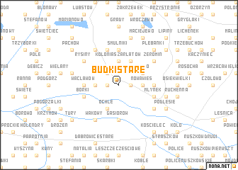 map of Budki Stare