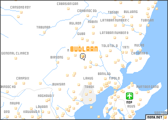 map of Budlaan