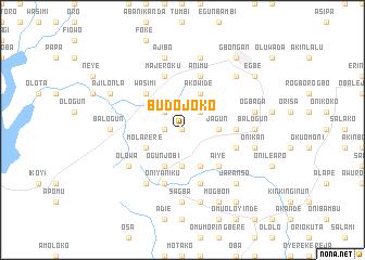 map of Budojoko