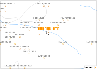 Buena Vista Mexico Map Nona Net
