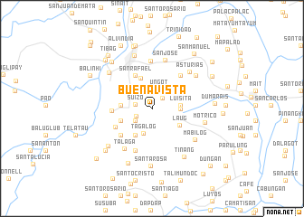 map of Buenavista