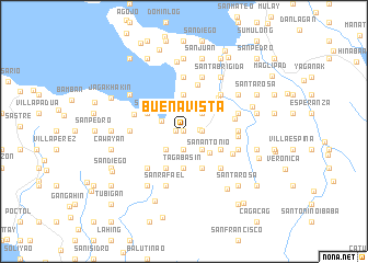 Buenavista Philippines map nonanet