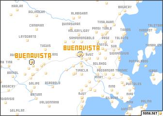 map of Buenavista