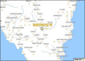 map of Buena Vista