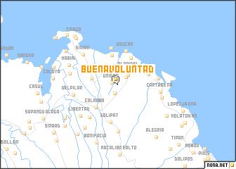 map of Buenavoluntad