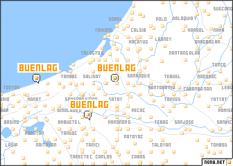 map of Buenlag