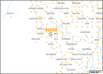 map of Bueno