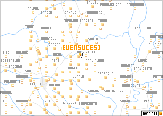 map of Buensuceso