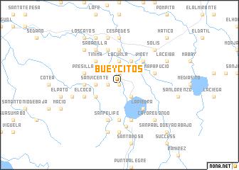 map of Bueycitos