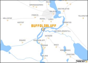 Buffalo Bluff United States USA Map Nonanet - Buffalo us map