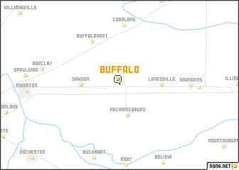 map of Buffalo