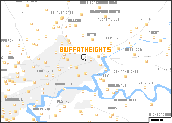 map of Buffat Heights