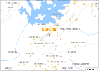map of Buford