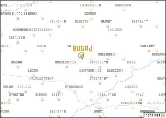 map of Bugaj