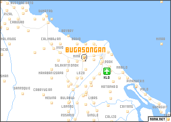 map of Bugasongan
