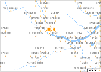 map of Buga
