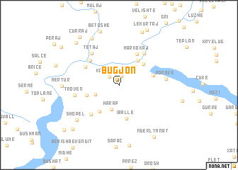 map of Bugjon
