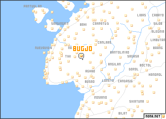 map of Bugjo