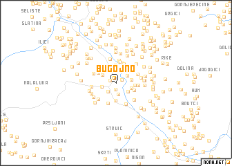 map of Bugojno