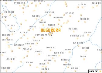 map of Bugorora
