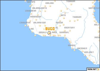 map of Bugó